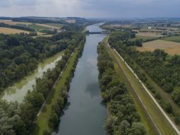 Sub-site 1 FFH priority Loiching - Measures C.1 - C.5: Condition of the Isar river prior to the beginning of construction work